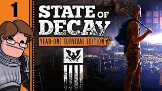 Let's Play State of Decay: Year One Survival Edition Part 1 - Gunshots in the Woods