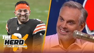 Betting on Baker to get Browns back to playoffs? Talks Mac Jones & 49ers — Colin | NFL | THE HERD