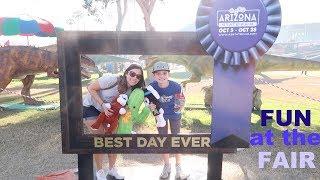 Crazy Fun at the Arizona State Fair!!
