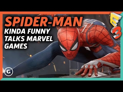 Kinda Funny Talks Spider-Man and Marvel Games  | E3 2017 GameSpot Show