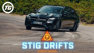 [Top Gear] STIG DRIFTS: Mercedes-AMG E63 Estate