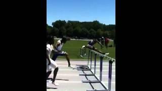 Akon Jumping hurdles