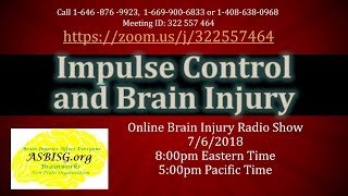 Impulse Control and Brain Injury