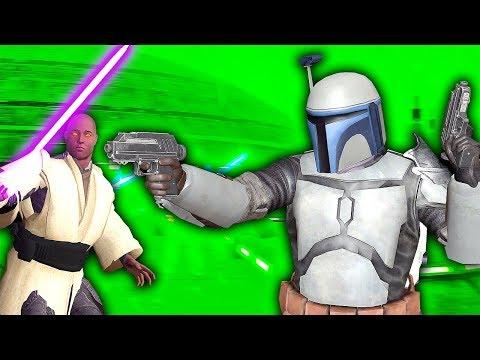 JANGO FETT TAKES DOWN JEDI ARMY - Blades and Sorcery VR Mods (Star Wars)