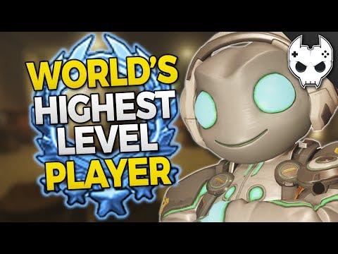 Overwatch – WORLD'S HIGHEST LEVEL PLAYER! How he does it!
