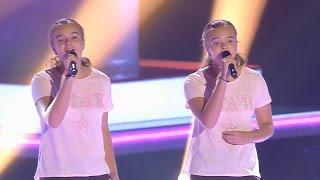 """Elena Y María: """"Say Something"""" - Audiciones A Ciegas - La Voz Kids 2017"""