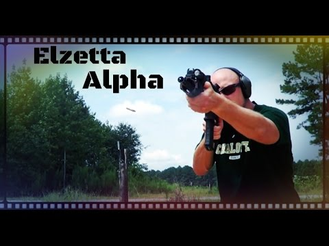 Elzetta Alpha Single Cell Flashlight Review (HD)
