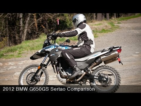 MotoUSA Comparison: 2012 BMW G650GS Sertao