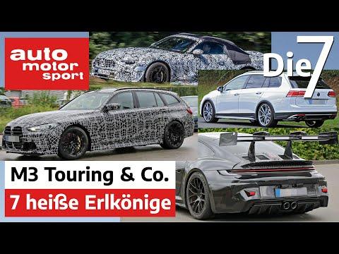 7 heiße Erlkönige - BMW M3 Touring & Co. heizen das Sommerende auf | auto motor und sport