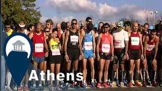 Athens Marathon | The Start Line & The Route | Video6