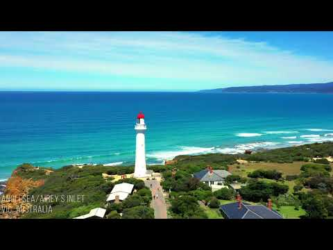 Droning of Anglesea and surrounding sands