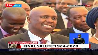 President of Uganda Museveni pays tribute to Former President Daniel Moi