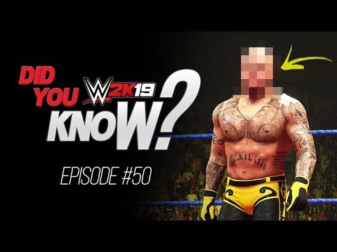 WWE 2K19 Did You Know? Play As Unmasked Mysterio, Usable Booty-O's, Glitches & More! (Episode 50)