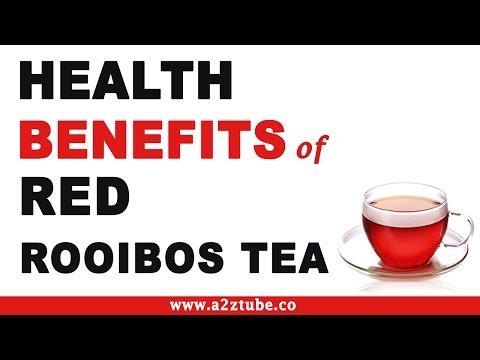Video Health Benefits of Red Rooibos Tea