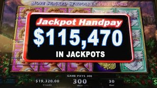 Gambar cover OVER $115,000 in JACKPOT$! 💥48 Handpays in 24 Minutes ➡️Golden Goddess Speedrun 💰| The Big Jackpot