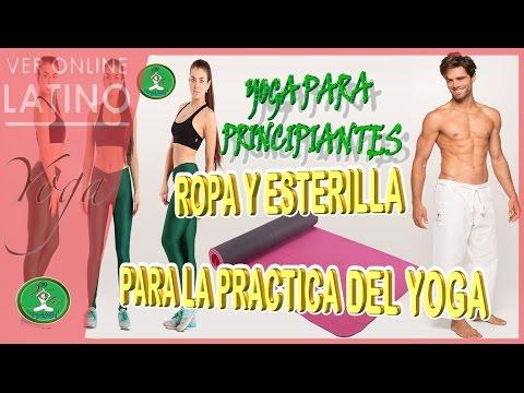 yoga para principiantes ropa y esterilla para la práctica del yoga