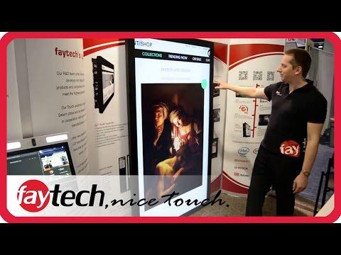 faytech CES Las Vegas 2016 - interaktive Touchlösungen