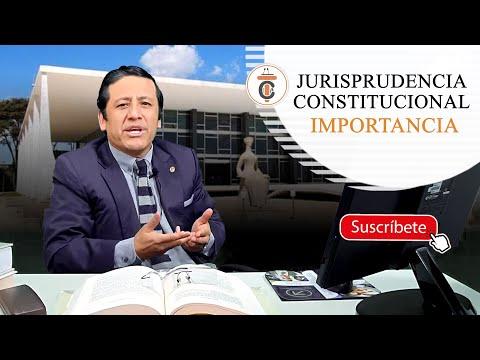 JURISPRUDENCIA CONSTITUCIONAL: IMPORTANCIA - TC186