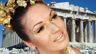 Greek Goddess Halloween Look: Makeup, Hair & Costume