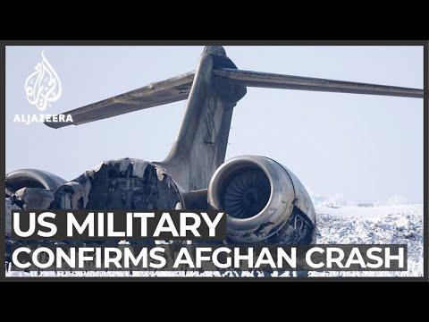 US military confirms Afghan crash but disputes plane shot down