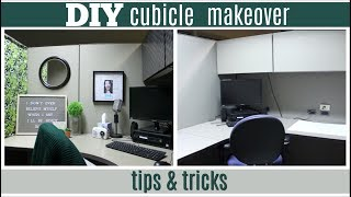 DIY Cubicle Makeover