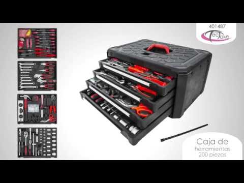 TecTake - Caja de herramientas 200 piezas