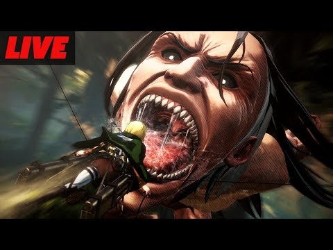 Attack On Titan 2 One Hour of Live Gameplay