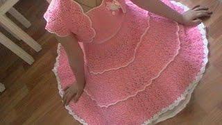 Crochet Baby Dress| Free |Crochet Patterns| 562