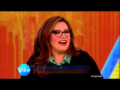 Cristela Alonzo on THE VIEW talks about guest starring on General Hospital!