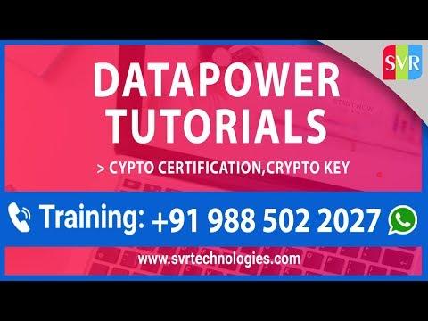Datapower Tutorials || Cypto Certification-Crypto key || Datapower ...