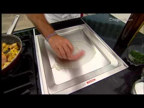 Karlos Arguiñano en tu cocina: Calabacín relleno de salchicha y queso