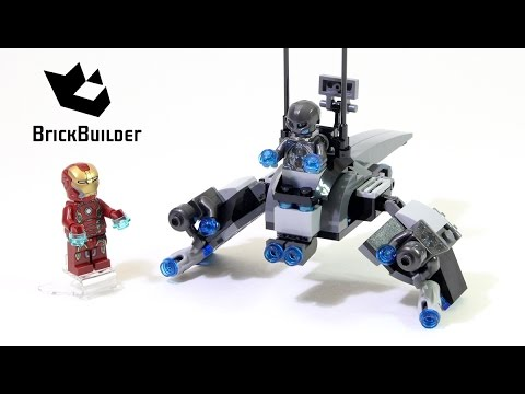 Vidéo LEGO Marvel Super Heroes 76029 : Iron Man contre Ultron