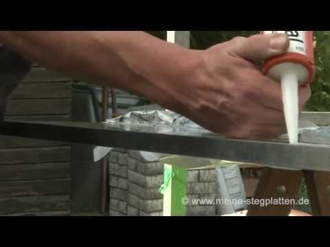 Verlegeanleitung Doppelstegplatten Vorbereitung und Verarbeitung der Stegplatten Teil 2