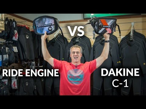 Dakine C-1 vs Ride Engine Kiteboarding Harness Review