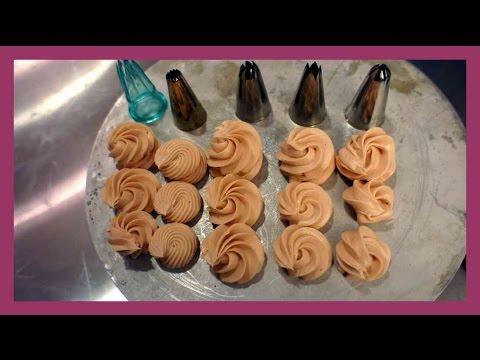 Tüllenkunde - Welche Spritztülle wofür benutzten ? - Basiswissen für Tüllen - Kuchenfee