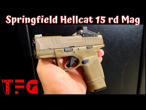 Springfield Hellcat with 15 Round Mags - TheFirearmGuy
