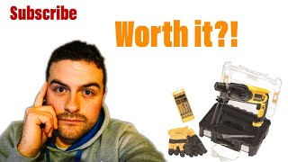 Dewalt sds hammer drill review