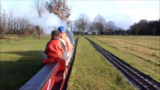 preview picture of video 'Christmas running at Leyland Society of Model Engineers'
