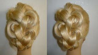 Einfache Frisuren Flechtfrisuren Mit Dutt Zopffrisuren Donut Hair