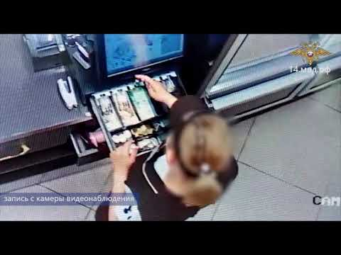 Видеофакт: В Мирнинском районе продавец два месяца обкрадывала магазин