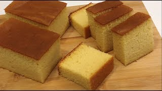 Honey Sponge Cake  蜂蜜海绵蛋糕