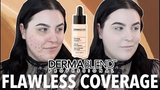 DERMABLEND FLAWLESS CREATOR DROPS - FIRST IMPRESSION REVIEW & WEAR TEST | Kholo.pk