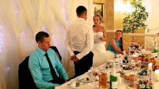 Красивое признание любимому. Сюрприз на свадьбу.
