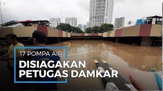 Banjir di Underpass Kemayoran, 17 Pompa Air Disiagakan