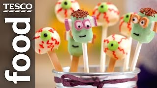 How to make cake pops for Halloween