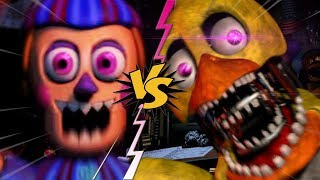 JAY JAY VS WITHERED CHICA - La Liga de FNAF | FIVE NIGHTS AT FREDDY