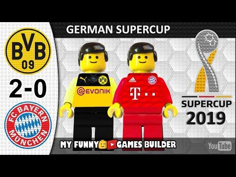 German Super Cup 2019 • Borussia Dortmund vs Bayern Munich 2-0 🏆 DFL Supercup in LEGO Football
