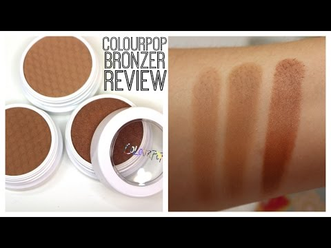 Colourpop Bronzer Review | Bailey B.