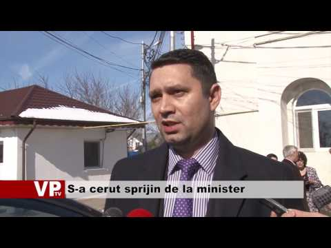 S-a cerut sprijin de la minister