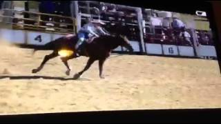 Keatley Cowgirl takes out First Place at Buchan Rodeo Open Barrel Racing
